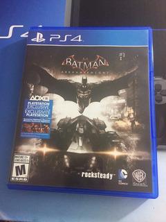 Batman Arkham Knight Ps4 Español Seminuevo