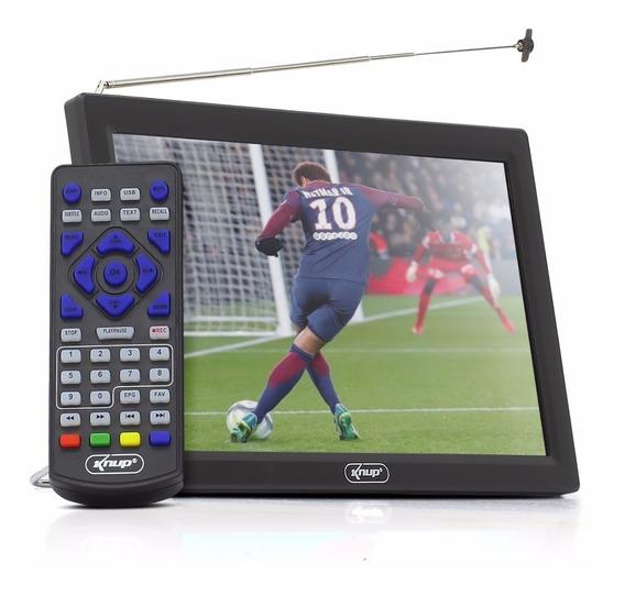 Tv Digital Hd Portátil 9 Polegadas Knup Kp-md005