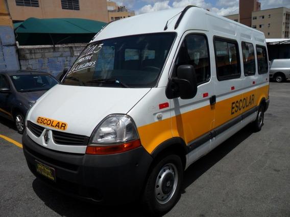 Renault Master Longa Teto Alto Kit Escolar 16 Lugares 2013