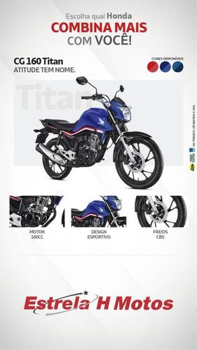 Consórcio Solução - Honda Cg 160 Titan