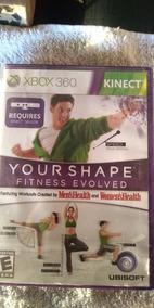 Jogo Para Kinect Your Shape Fitness Envolved Xbox 360 Mídia