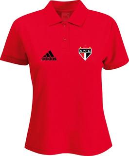 Camiseta Camisa Polo Feminina Torcedor Times Paulistas M02