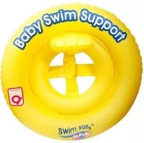 Boia Infantil Baby Swim Inflável , Assento Em Faixa Bestway