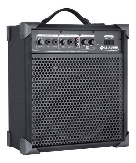 Caixa Amplificada Multiuso Ll Audio Lx60 15w Rms Guitarra