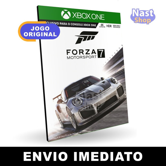 Forza Motorsport 7 Xbox One Midia Digital Envio Imediato