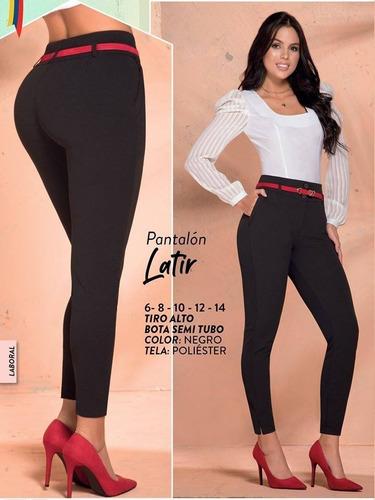 Pantalon Casual Tela Poliester Dama Luxurystoremoda Mercado Libre