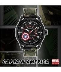 Reloj Citizen De Colección Capitán América