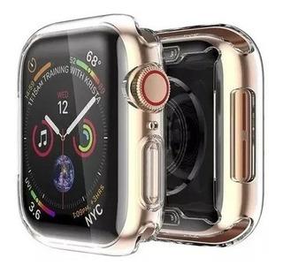 Case Capa Silicone 360º Protetor Para Apple Watch 42 E 44mm