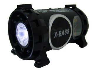 Parlante Portatil Bluetooth Usb Linterna Am Fm Senon Bz300