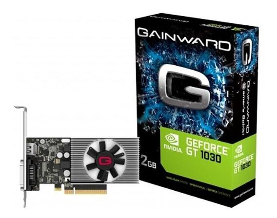 Placa De Vídeo Nvidia Gt1030 2gb Gddr5 Gainward ( Open Box )