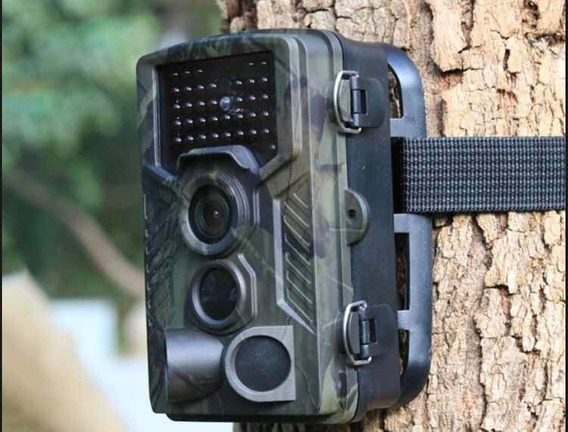 Câmera De Trilha Hc800a Visão Noturna Caça Ceva + Cartão 32g