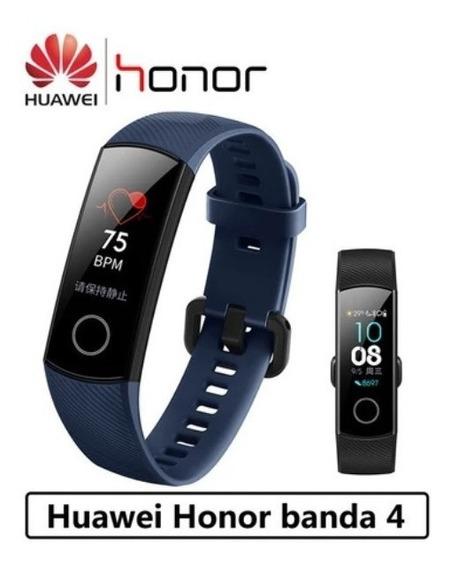 Smart Band 4 Monitor Esporte Ip67 Android / Ios Huawei Honor