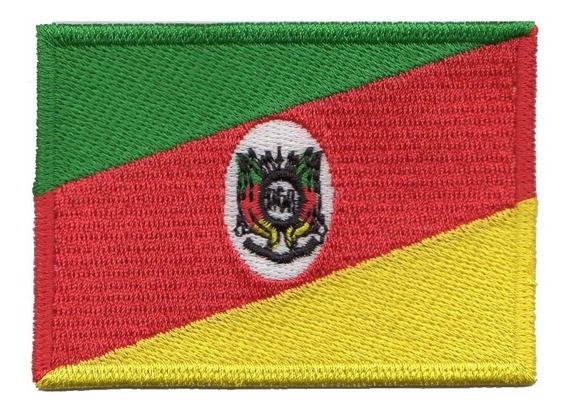 Patch Bordado - Bandeira Rio Grande Do Sul Bd50031