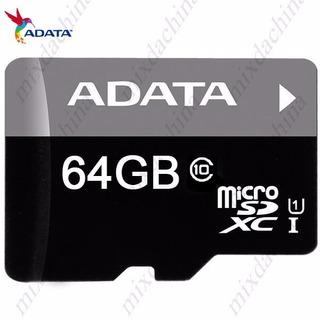 Cartão De Memória Adata Microsd Classe 10 Original 64gb