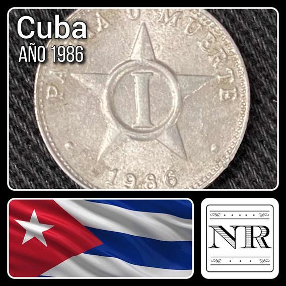 Cuba - 1 Centavo - Año 1986 - Km # 33 - Estrella