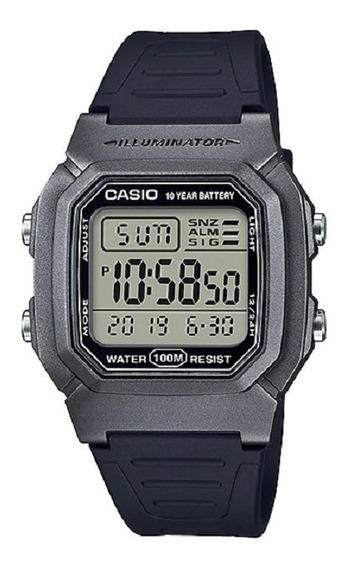 Relógio Casio Masculino Vintage W-800hm 7av Grafite Digital