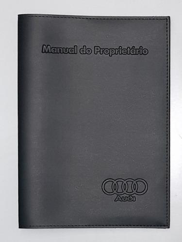 Imagem 1 de 2 de Capa Porta Manual Proprietário Audi