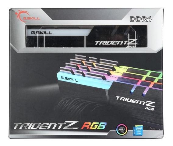 Memória G.skill Tridentz Rgb Ddr4 32gb (4x8gb) 3733mhz Cl17