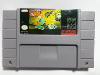Snes/super Nintendo Earthworm Jim 2 Repro