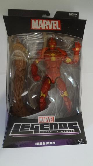 Figura De Ação Iron Man Marvel Legends - Novo E Lacrado