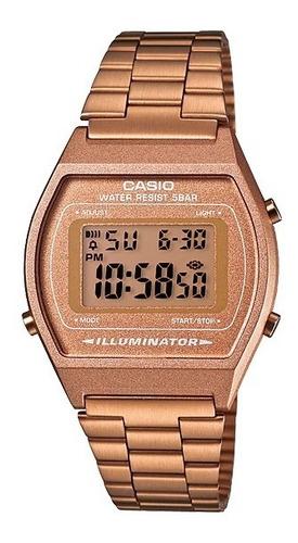Reloj Casio Vintage B640wc-5avt Oro Rosa