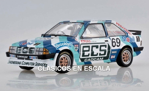 Ford Escort 1600i Mk3 Rs 1985 Hodgetts - Rally Sun Star 1/18