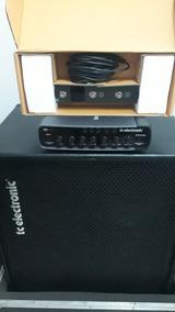 Amplificador Cabeçote Para Baixo Tc Electronic Rh450.