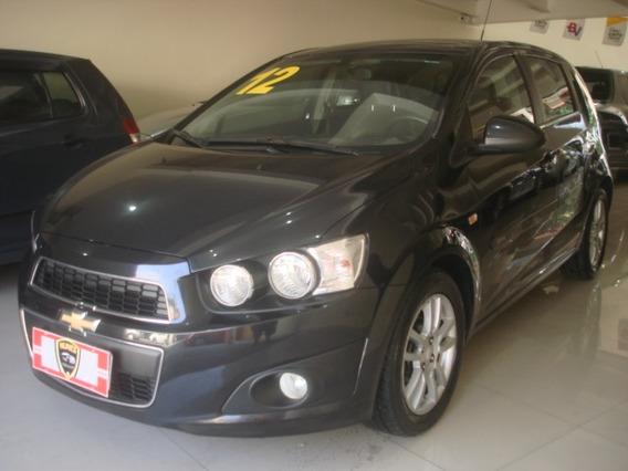 Chevrolet Sonic 1.6 16v Ltz Aut. 4p Preto Completo 2012