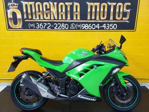 Kawasaki Ninja 300r - Verde - 2014 - Km 22.000