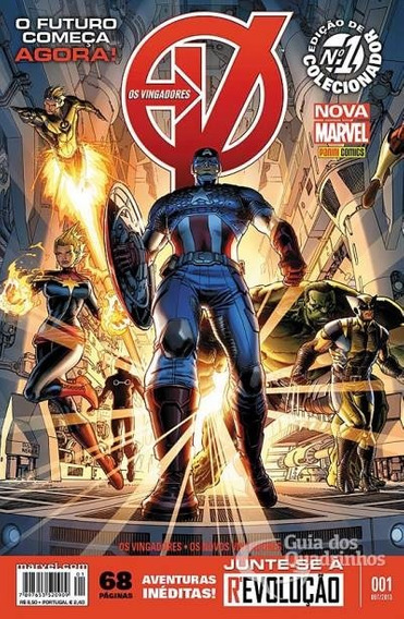 Vingadores Nova Marvel Panini Completo