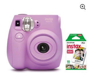 Fujifilm Instax Mini 7s Instant Camara Con Paquete 10 Fotos