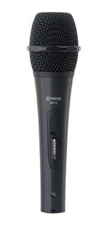 Microfono Economico De Mano Krieg K-513 Color Negro