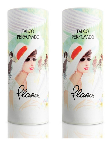 Pack 2x Talco Perfumado Flaño Boulevard 90g