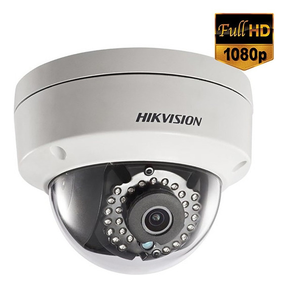 Camera Ip Dome Hikvision 4mm Full Hd 1080p 2mp Ip67 30mts Infravermelho Alarme - Ds-2cd2120f-is