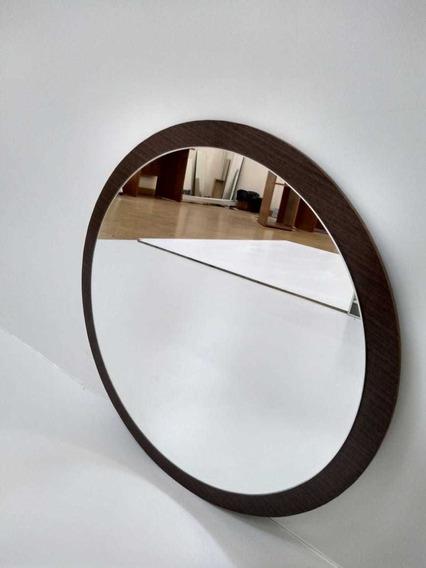 Espelho Decorativo De Vidro 45cm Com 51 Cm Total