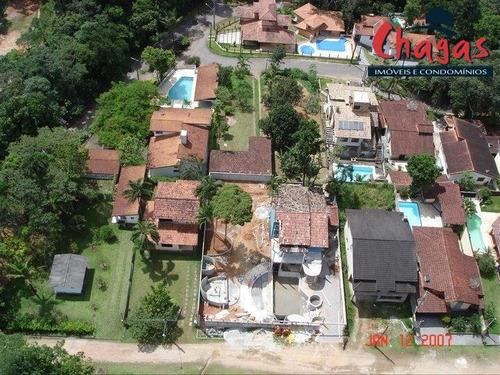 Imagem 1 de 13 de 960m² De Terreno  Com Casa De Fundos Em Condomínio De Alto Padrão. - 1633