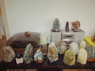 Lámparas De Piedra De Onix