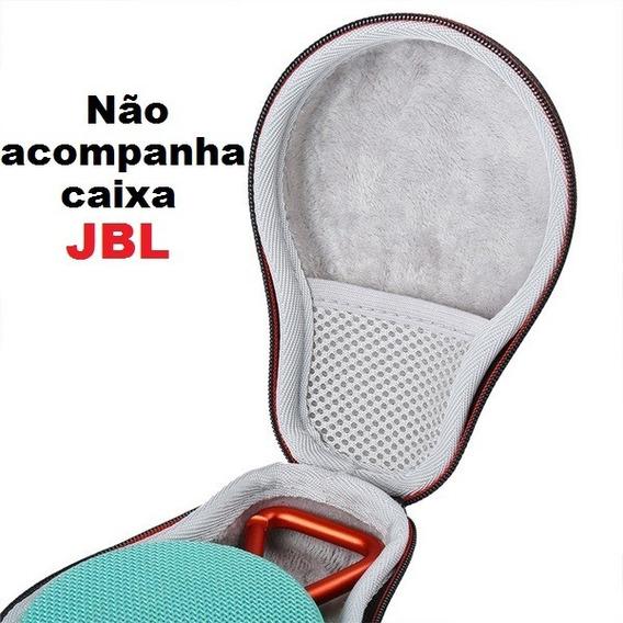 Capa Case Bolsa Para Jbl Clip Rígida + Alça Supor Acessórios
