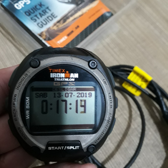 Relógio Timex Ironman - Global Trainer - Gps - Hrm - Elite