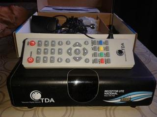Decodificador Tda En Caja Como Nuevo Mas Antena Exterior