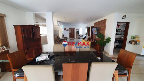 Casa Com 5 Dormitórios À Venda, 220 M² Por R$ 960.000,00 - Praia Da Enseada - Guarujá/sp - Ca0293