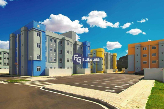 Apartamento Com 2 Dormitórios À Venda, 41 M² Por R$ 138.500,00 - Tindiquera - Araucária/pr - Ap0604