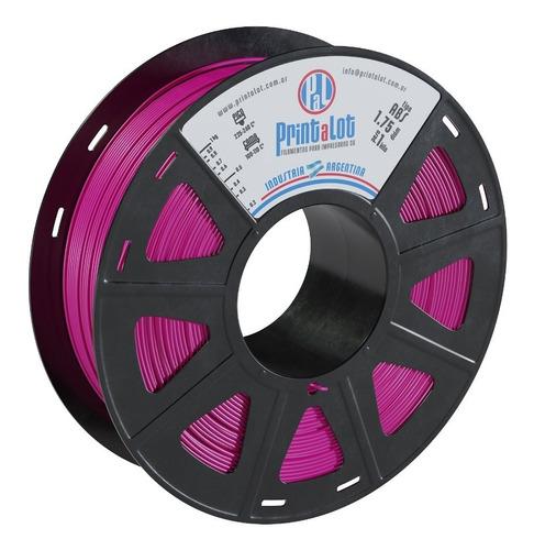 Imagen 1 de 1 de Filamento Para Impresoras 3d Abs 1,75 1kg Printalot