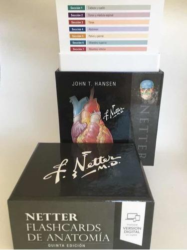 Netter Flash Card De Anatomia 5a Ed Originales Y Nuevas