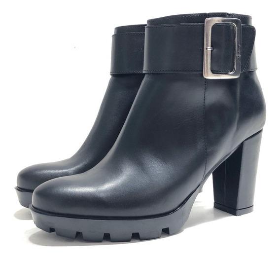 Gravagna 8532 Botineta Cuero Elegante El Mercado De Zapatos!