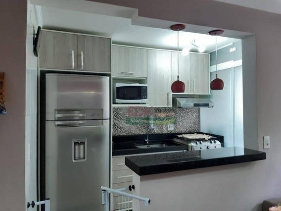 Apartamento Com 2 Dormitórios À Venda, 47 M² Por R$ 180.000 - Parque Residencial Flamboyant - São José Dos Campos/sp - Ap3271