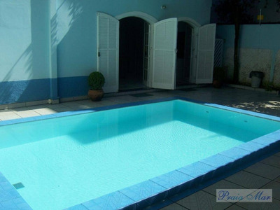 Casa Residencial À Venda, Jardim Las Palmas, Guarujá. - Ca0057