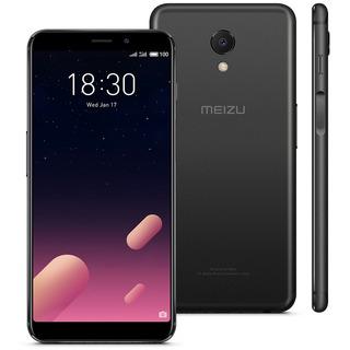 Smartphone Meizu M6s Preto, Tela 5,7, 64gb, Proc. Exynos