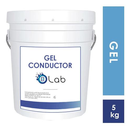 Imagen 1 de 5 de Gel Conductor Neutro Para Ultrasonido Cavitación 5kg Biolab