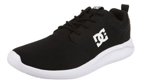 Zapatillas Negras Dc Shoes Midway Originales